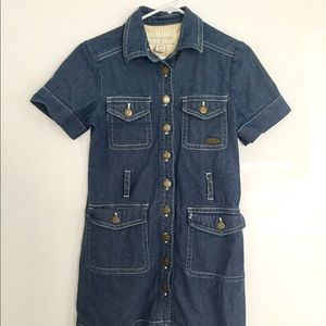 Marc Jacobs Jean Mini Dress